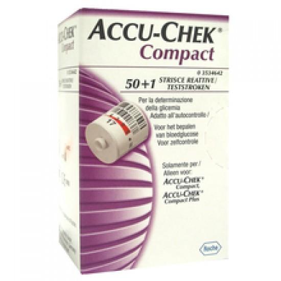 Accu-Chek Compact, testni lističi v disku Pripomočki in zaščita