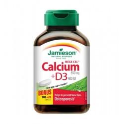 Jamieson Mega Kalcij + Vitamin D3, tablete