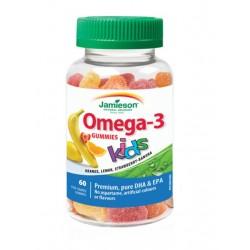 Jamieson Omega-3 žvečljivi želejčki za otroke