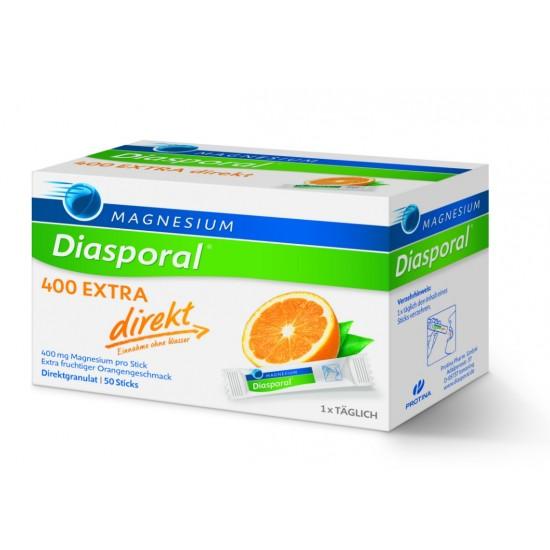 Magnesium - Diasporal 400 mg Extra Direkt, 50 vrečk Prehrana in dopolnila