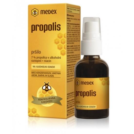 Medex, Propolis na alkoholni osnovi, pršilo Pripomočki in zaščita