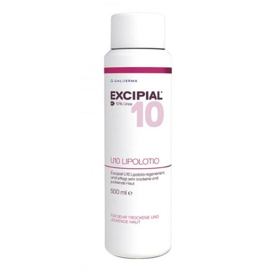 Excipial U10, lipolosjon z 10% ureo - 500 ml Kozmetika