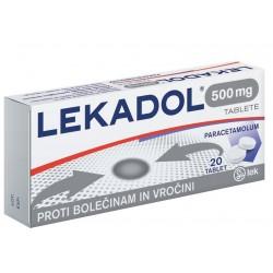 Lekadol, 20 tablet