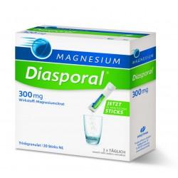 Magnesium - Diasporal 300 mg, 20 vrečk