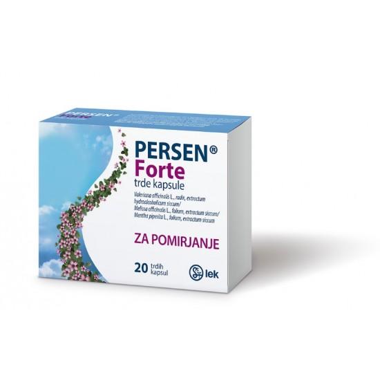 Persen Forte, 20 trdih kapsul Zdravila brez recepta