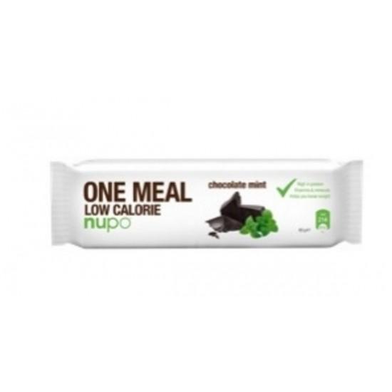 Nupo, ploščica za nadomestitev obroka, čokolada in poprova meta Prehrana in dopolnila