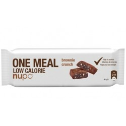 Nupo, ploščica za nadomestitev obroka, hrustljav brownie