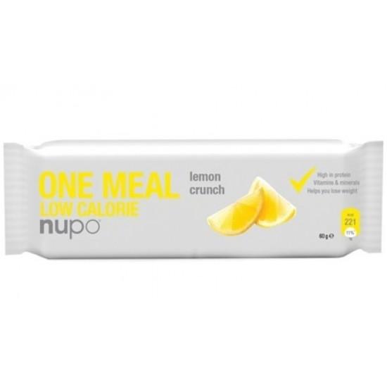 Nupo, ploščica za nadomestitev obroka, hrustljava limona Prehrana in dopolnila