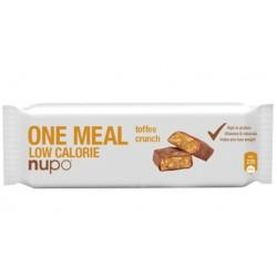 Nupo, ploščica za nadomestitev obroka, toffee crunch