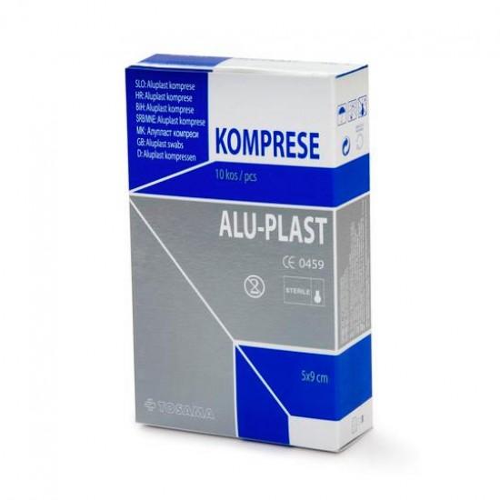 Aluplast extra, komprese za prvo pomoč 5 x 9 Pripomočki in zaščita