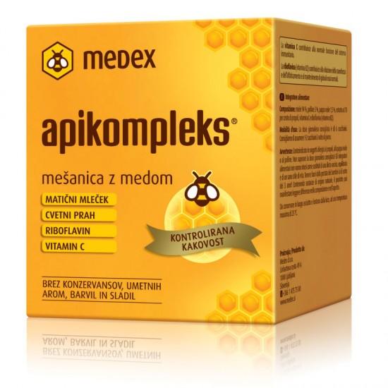 Medex Apikompleks, mešanica z medom Prehrana in dopolnila