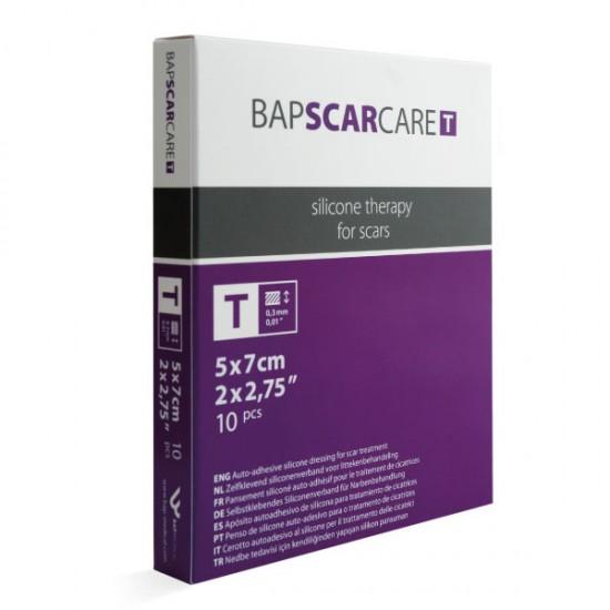 Bapscarcare T, tanek silikonski obliž 5 x 7 cm Pripomočki in zaščita