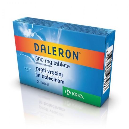 Daleron, 20 tablet Zdravila brez recepta