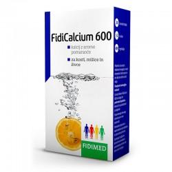 FidiCalcium 600, šumeče tablete