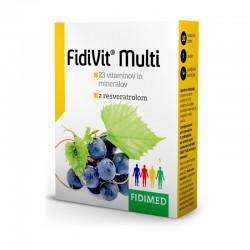 Fidivit Multi z resveratrolom, tablete