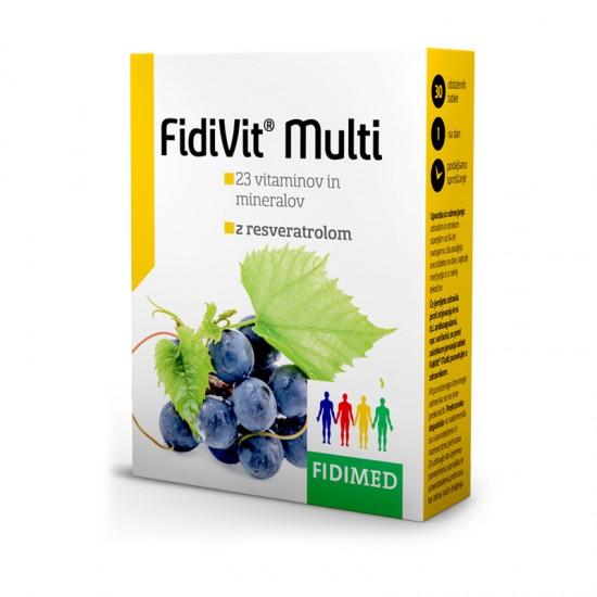 Fidivit Multi z resveratrolom, tablete Prehrana in dopolnila