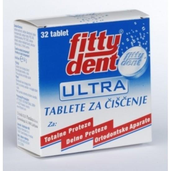 Fittydent, čistilne tablete za proteze Pripomočki in zaščita