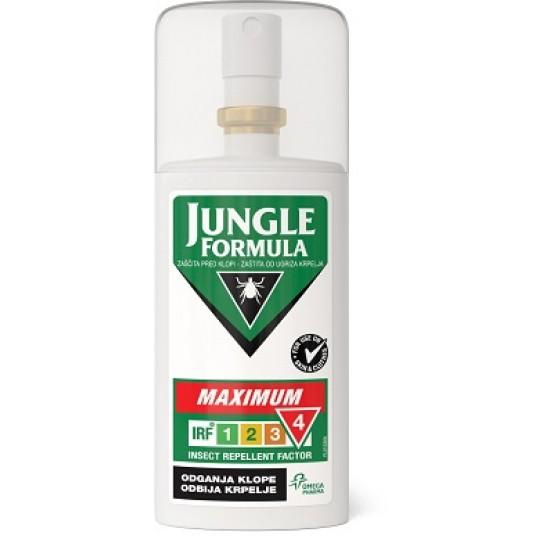 Jungle Formula Maximum, zaščita pred klopi Pripomočki in zaščita