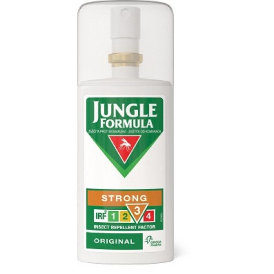 Jungle Formula Strong Original, zaščita proti komarjem Pripomočki in zaščita