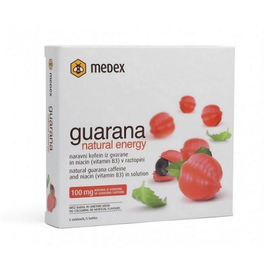 Medex, Guarana natural energy Prehrana in dopolnila