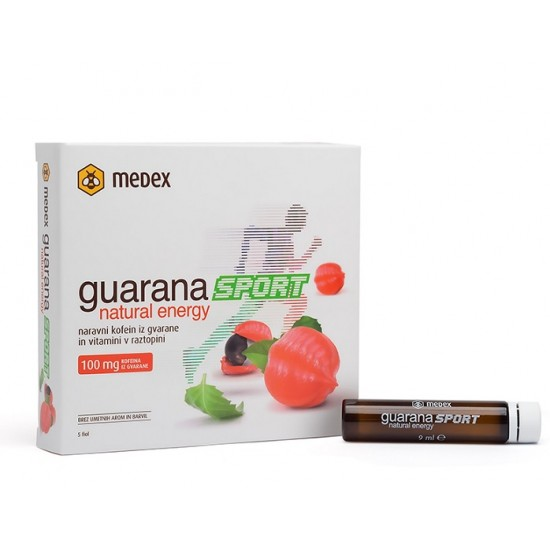Medex, Guarana natural energy sport Prehrana in dopolnila