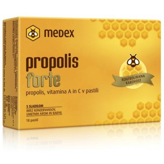 Medex, Propolis forte, pastile Prehrana in dopolnila