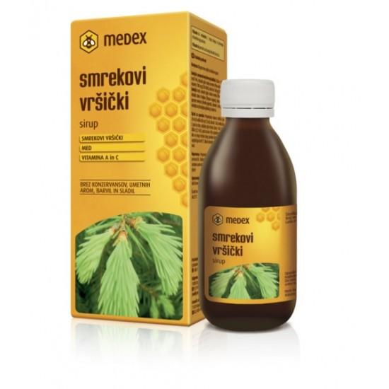Medex, Smrekovi vršički, sirup Prehrana in dopolnila
