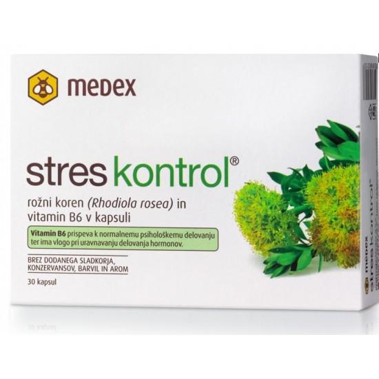 Medex, Stres kontrol, kapsule Prehrana in dopolnila