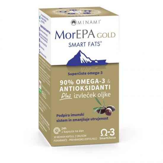 MorEPA Gold, kapsule Prehrana in dopolnila