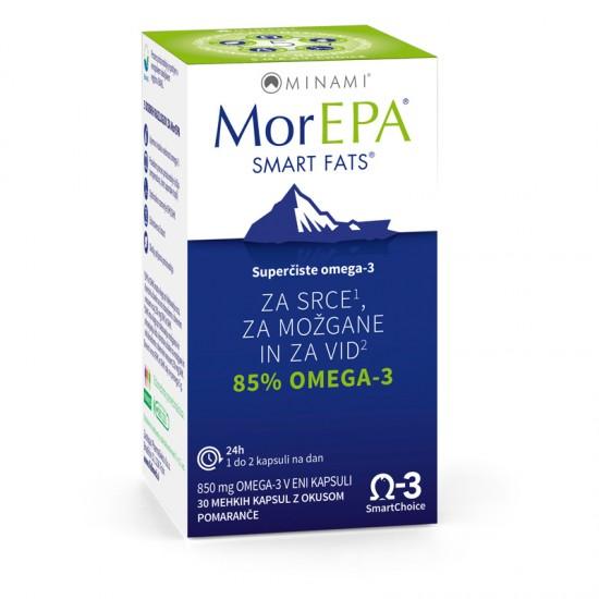 MorEPA, kapsule Prehrana in dopolnila