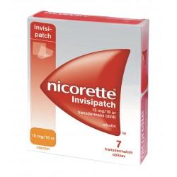 Nicorette Invisipatch 15 mg/16 ur, transdermalni obliži