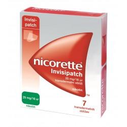 Nicorette Invisipatch 25 mg/16 ur, transdermalni obliži