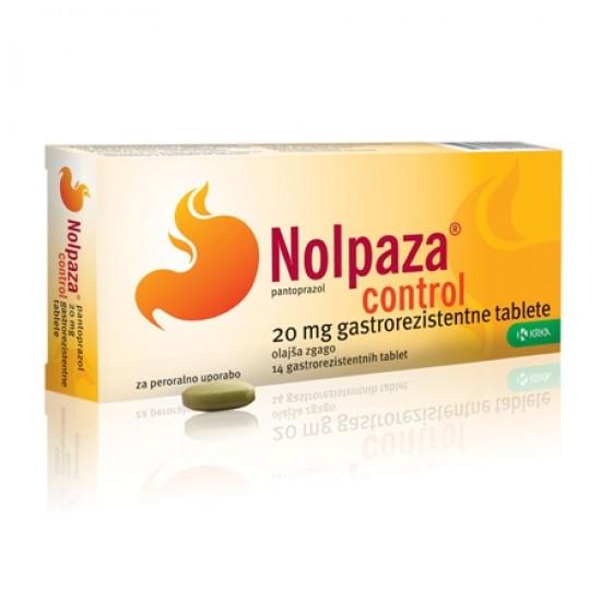 Nolpaza control, gastrorezistentne tablete Zdravila brez recepta