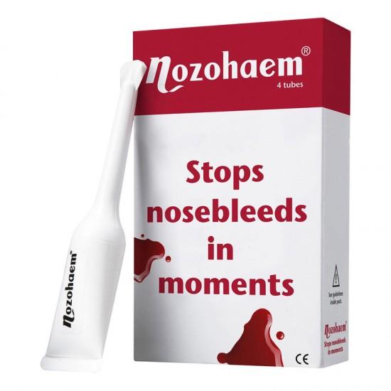 Nozohaem, gel za zaustavljanje krvavitev iz nosu Pripomočki in zaščita