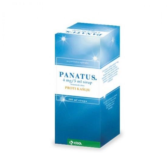 Panatus, sirup Zdravila brez recepta