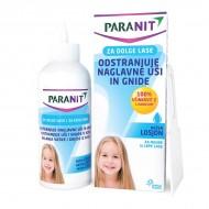Paranit, losjon za odstranjevanje naglavnih uši in gnid za dolge lase