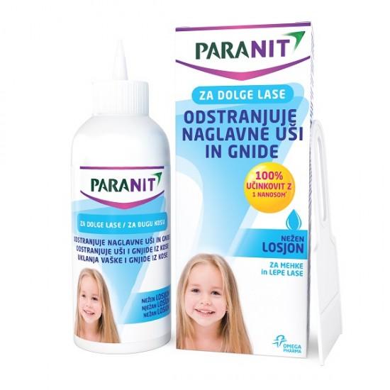 Paranit, losjon za odstranjevanje naglavnih uši in gnid za dolge lase  Kozmetika