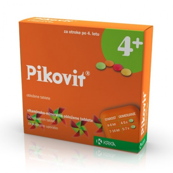Pikovit, obložene tablete Zdravila brez recepta