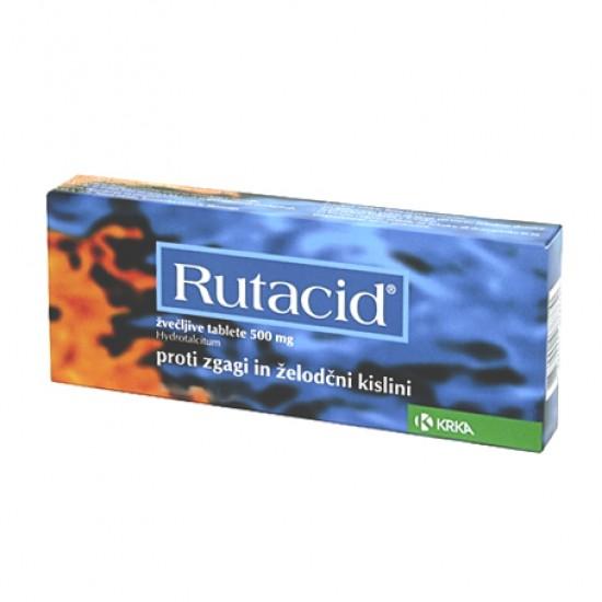 Rutacid, 60 žvečljivih tablet Zdravila brez recepta