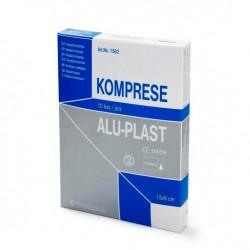 Aluplast extra, komprese za prvo pomoč 15 x 9