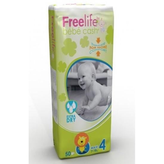Bb Cash Freelife Maxi, otroške plenice 7-18 kg, velikost 4 Za Mamice in Nosečnice