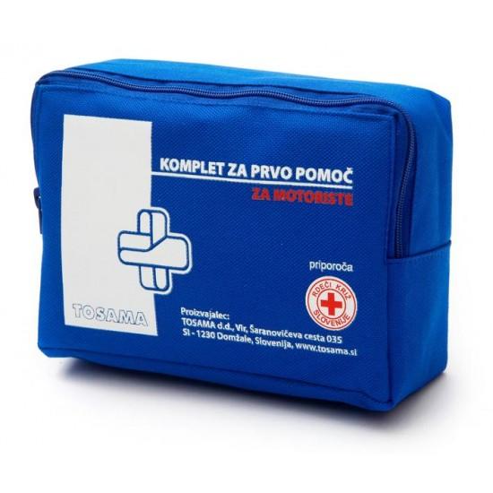 Komplet za prvo pomoč za motoriste Pripomočki in zaščita
