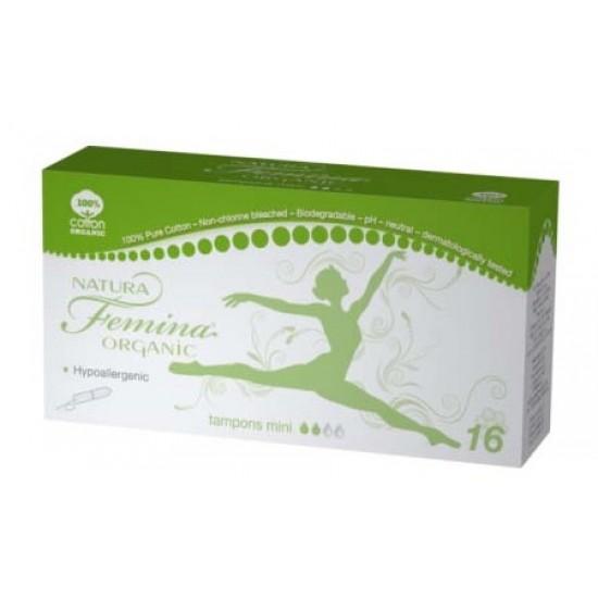 Natura Femina Organic, tamponi mini Kozmetika