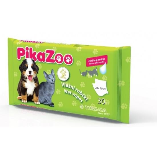 PikaZoo, vlažilni robčki tea tree Za živali