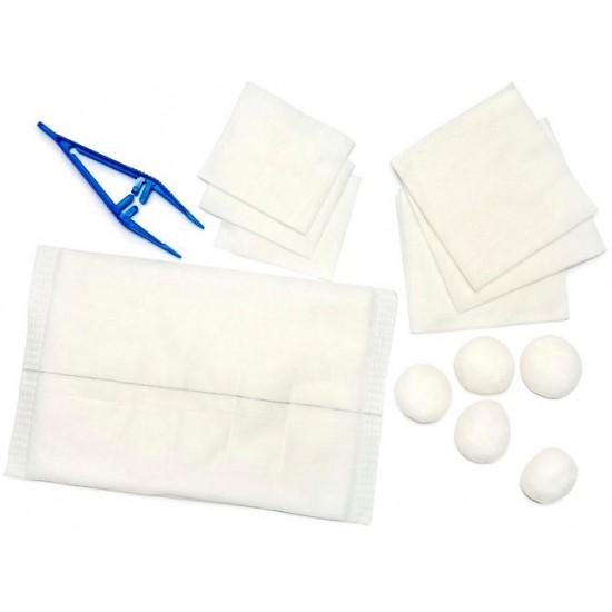 Set preveza št.3, sterilna Pripomočki in zaščita