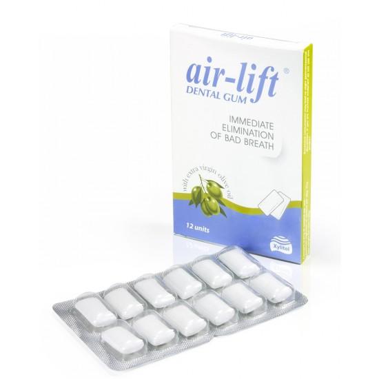 Air-Lift, žvečilni gumiji  Pripomočki in zaščita