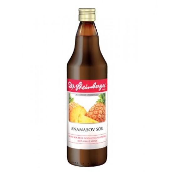 Dr. Steinberger, Ananasov sok Prehrana in dopolnila
