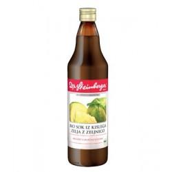 Dr. Steinberger, Bio sok iz kislega zelja z zelnico