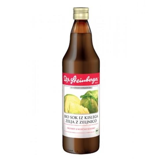 Dr. Steinberger, Bio sok iz kislega zelja z zelnico Prehrana in dopolnila
