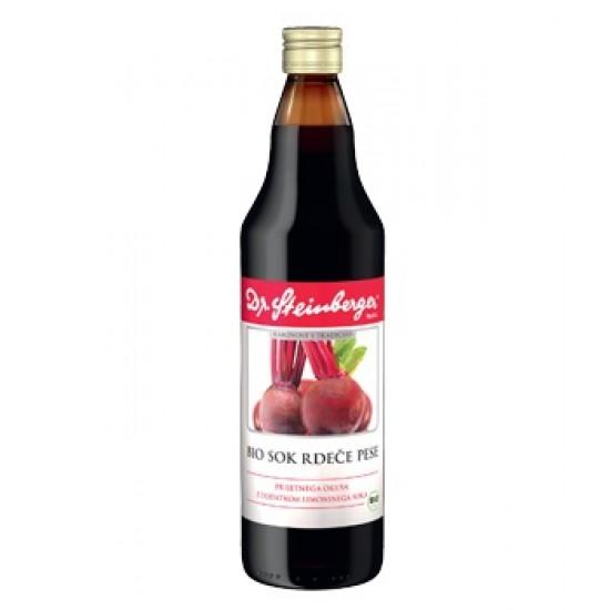 Dr. Steinberger, Bio sok rdeče pese Prehrana in dopolnila